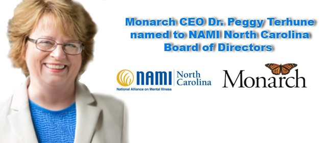 Monarch CEO appointed to NAMI state board of directors