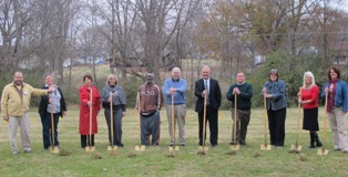 Garden groundbreaking -web3