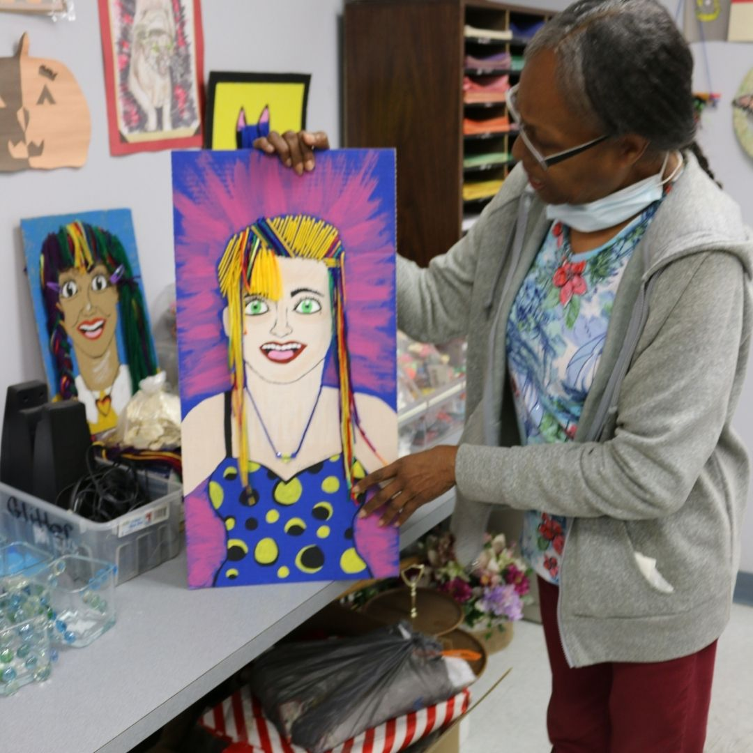 Freeing the Inner Artist is the Goal in Lanetta Jernigan's Classes