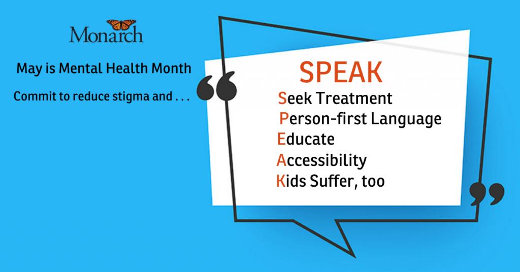 Mental Health Month SPEAK